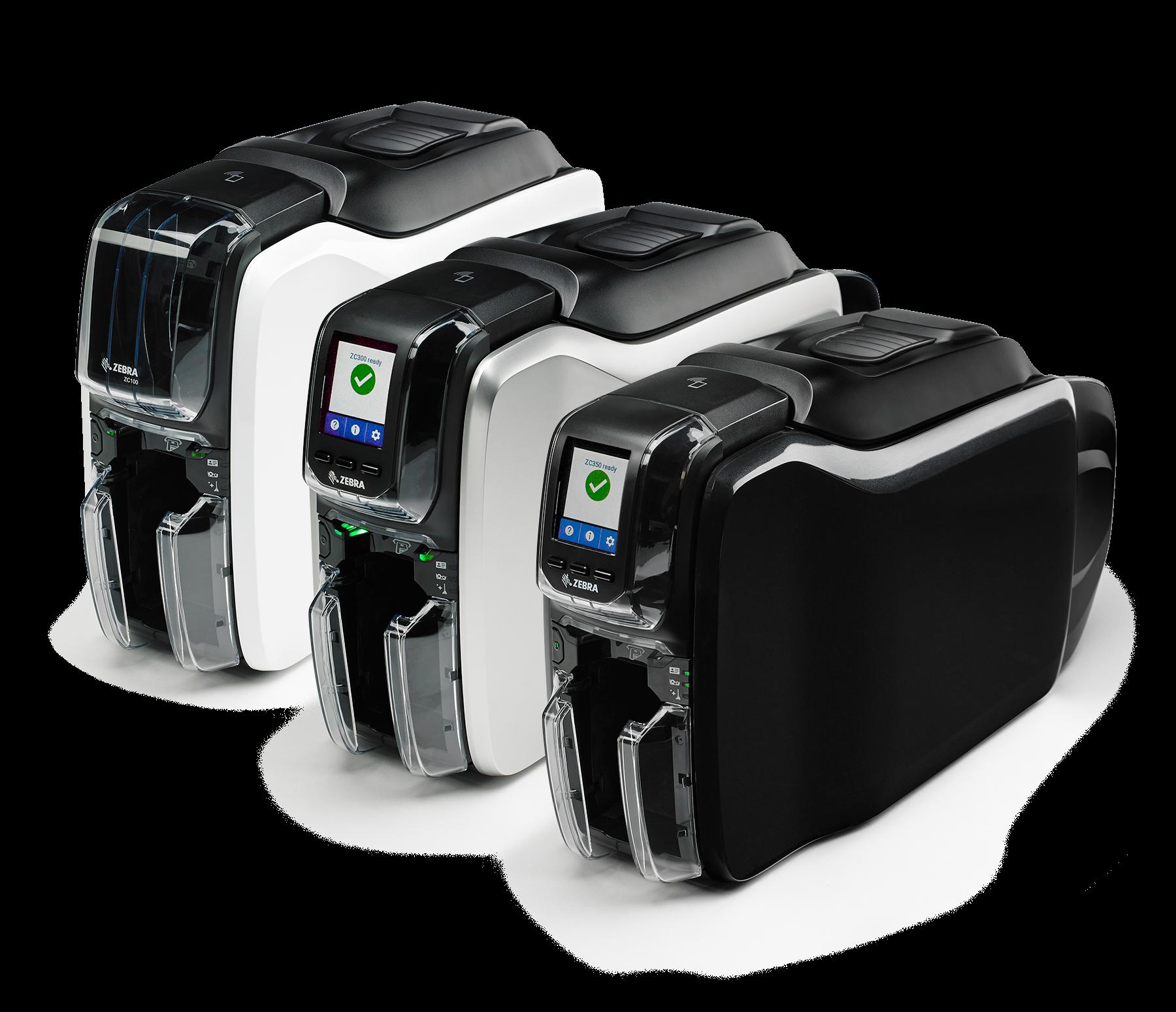 ZC100 Z300 ZC350 Nouvelle Gamme d'Imprimantes Cartes Zebra