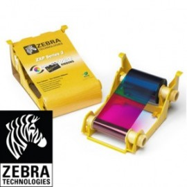 Consommables couleurs pour imprimante à sublimation thermique Zebra